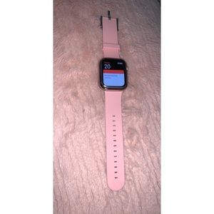 Baby pink 38mm Apple Watch band
